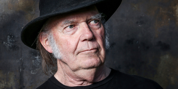 Neil Young won't be playing shows in New Zealand next year, according to Frontier Touring. Photo/AP