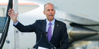 Boeing chief executive officer Dennis Muilenburg. Photo / AP