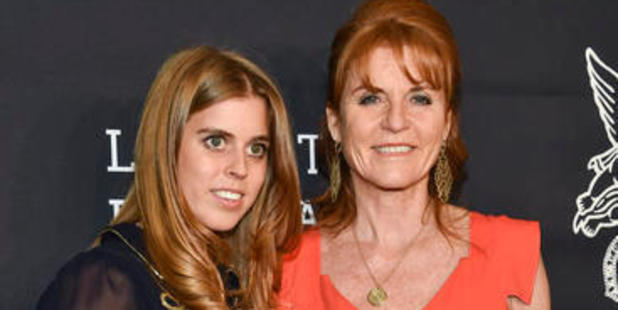 Princess Beatrice was larking around at a party, also attended by her mother Sarah Ferguson, Duchess of York, when the incident happened. Photo / Ap