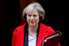 UK Prime Minister Theresa May. Photo / AP