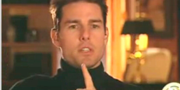 Known Scientologist Tom Cruise.