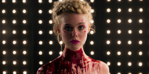Elle Fanning enters the devilish world of modelling in The Neon Demon. Photo / Trigger