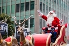 Live updates from the Auckland Santa Parade.