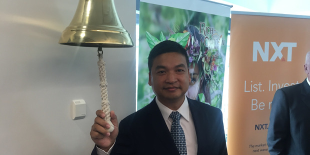 Walker Zhong , chief executive of Oceania Natural. Photo / Supplied