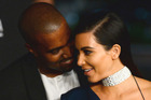 Kanye West and Kim Kardashian were reportedly having issues leading up to West's hospitalisation. Photo/AP