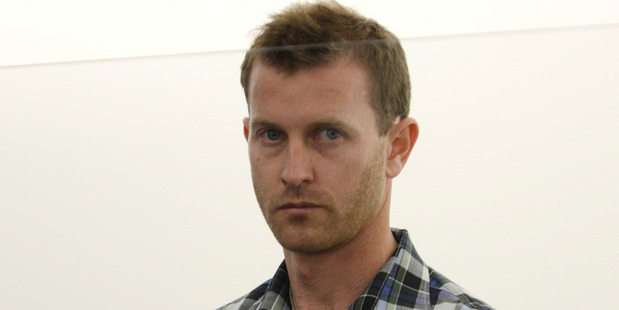 Warren Blair Fitzgerald in Dunedin District Court. Photo / Otago Daily Times