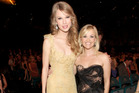 Musician Taylor Swift and actress Reese Witherspoon both will have their own streaming channels. Photo / Getty