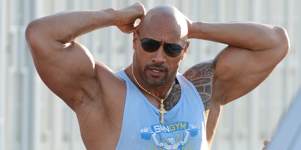 Dwayne 'The Rock' Johnson was once a terror on the football field. Photo / Getty
