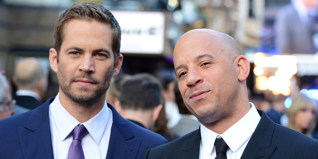 Paul Walker and Vin Diesel attend the world premiere of 'Fast And Furious 6.' Photo / Getty