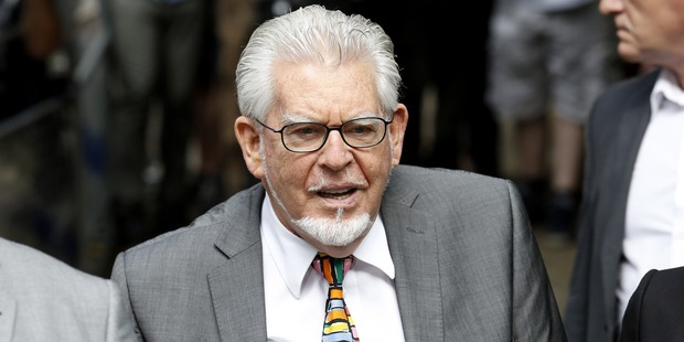 Rolf Harris arrives at Southwark Crown Court to face sentencing on 12 counts of indecent assault on July 4, 2014 . Photo / Getty