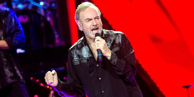 Neil Diamond performs at The SSE Hydro on July 7, 2015 in Glasgow, United Kingdom. Photo / Getty