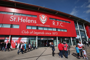 A general view of Langtree Park, which will now be known as Totally Wicked Stadium. Photo / Getty