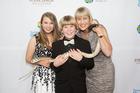 Robert Irwin with Mum Terri and sister Bindi. Photo / Getty Images