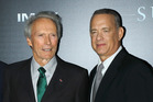 Tom Hanks finds director Clint Eastwood 'intimidating as hell.' Photo / Getty
