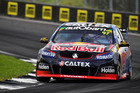 Shane Van Gisbergen during race 4 for the Auckland SuperSprint. Photo / Getty Images