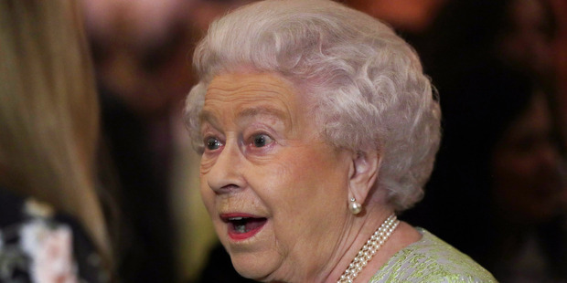 The Queen, along with the Duke and Duchess of Cambridge and Prince Harry, is excited by the news of a new addition to the royal family. Photo / Getty