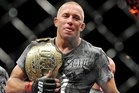Former champion Georges St-Pierre is among those who have set up a fighting union. Photo / Getty