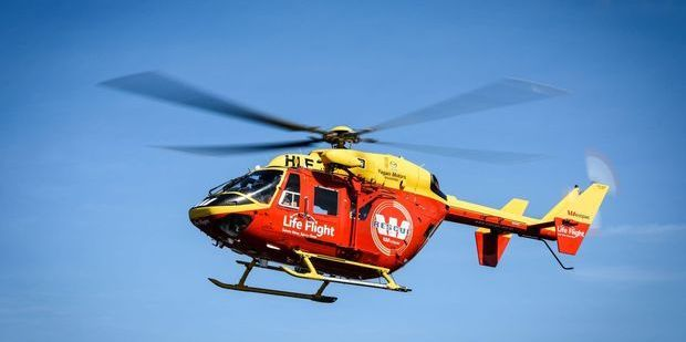 Constable Philip Simmonds said a rescue helicopter flew around the area where the person had been. Photo / File