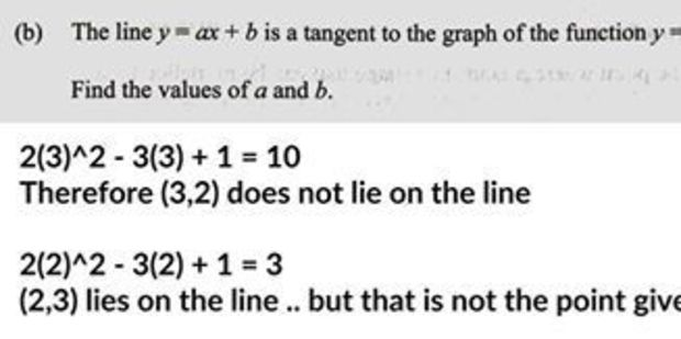 An explanation of the mistake in the Level 2 Calculus paper. Photo / supplied