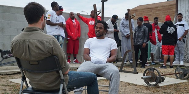 "Rapper Kendrick Lamar talks to host Zach Goldbaum on Viceland's ""Noisey,"" which spotlights music scenes in different cities across the U.S."