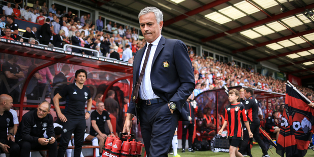 The stats behind Manchester United's worst start in 27 years are not good viewing for manager Jose Mourinho. Photo / Photosport