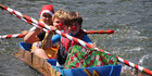 View: Kerikeri High raft race
