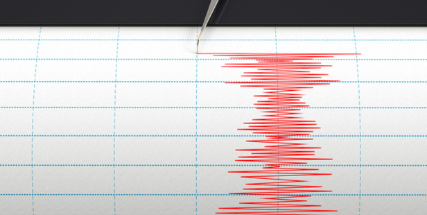 The moderate quake, which was 24km deep, jolted Kaikoura just before 7:15pm.