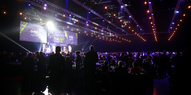 The Deloitte 200 Business Awards are being held at Vector Arena. Photo / Nick Reed