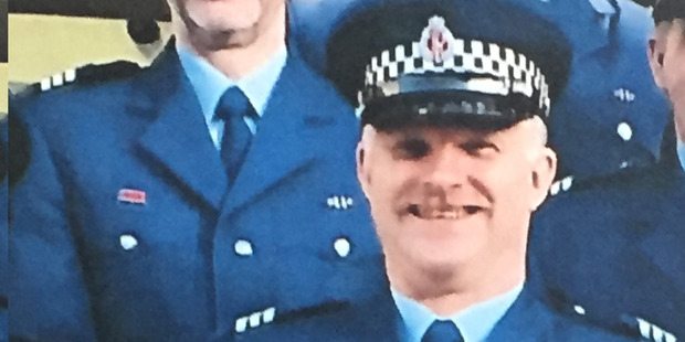 Sergeant Mike Toon drowned in the Manawatu River whilst trying to rescue the family dog. Photo / Supplied
