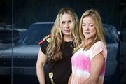 Jessica Wright, left, and Lavina Good. Photo/ Andrew Warner