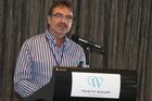 Workbridge employer ambassador Selwyn Cook inspired the audience at yesterday's Tauranga launch of EmployAbility. Photo/John Borren