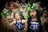 Waiwhakaata Tangitu,12 performing in the kapa haka competition. Photo/Andrew Warner.