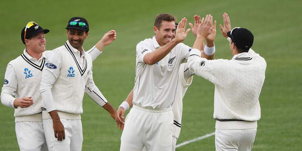 The Black Caps need 10 wickets on the final day of the second test against Pakistan. Photo / Photosport.co.nz