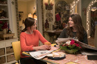 Alexis Bledel, left, and Lauren Graham star as Rory and Lorelai in Gilmore Girls: A Year in the Life. Photo / Saeed Adyani, Netflix