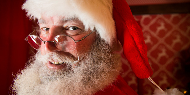 Letters must be sent to Santa by Sunday December 4, to be sure of getting a response in the mail. Photo / Jason Oxenham