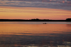 Lake Macquarie at sunset. Photo / Getty Images