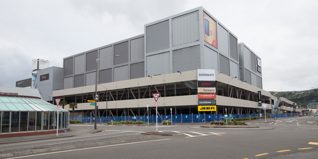 The Event Cinemas in Queensgate Shopping Centre in Lower Hutt will be demolished. Photo / Mark Mitchell
