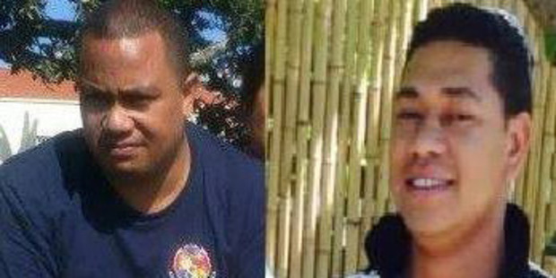 Sunia 'Junior' Ungo'unga (L) and Alipate 'Pate' Manumu'a, two of the seven men confirmed dead in the sinking of the Francie at Kaipara Harbour. Photos / Supplied