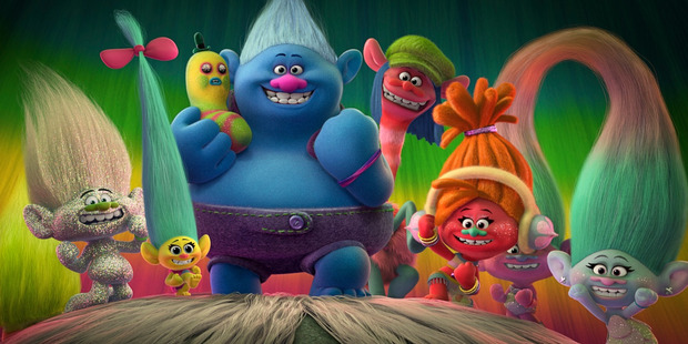 The Trolls are led by King Peppy (Jeffrey Tambor) and his daughter Poppy (Kendrick).