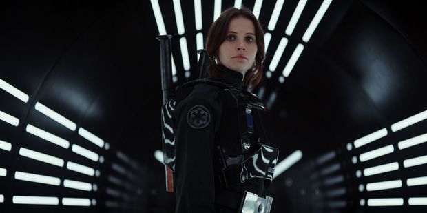 Felicity Jones leads the mostly male cast of upcoming Star Wars spin-off Rogue One. Photo / Supplied