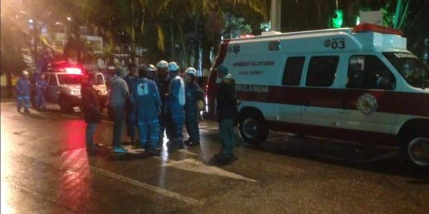Emergency services near Medellin Internaional Airport in Colombia. Photo /Aviacion Comercial en Colombia