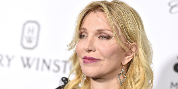 Courtney Love has also put her support behind Kim Kardashian following her ordeal. Photo / AP