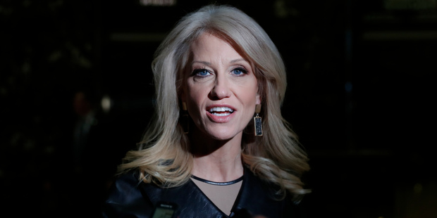 Kellyanne Conway, Donald Trump's campaign manager and adviser. Photo / AP