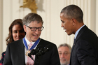 The Gates foundation has distributed more than US$50 billion in research and development grants since the philanthropic body launched in 2000. Photo / AP