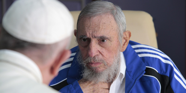 Loading Pope Francis meets Fidel Castro in Havana, Cuba. File photo / AP