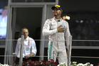 Mercedes driver Lewis Hamilton has been blasted by fellow Brit Jackie Stewart. Photo / AP