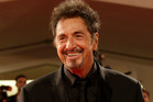 Among Al Pacino's ancillary talents is making fine Italian suiting. Photo / AP