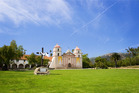 Parts of the old Spanish Mission are still intact, having withstood several earthquakes. Photo / Santa Barbara Tourism