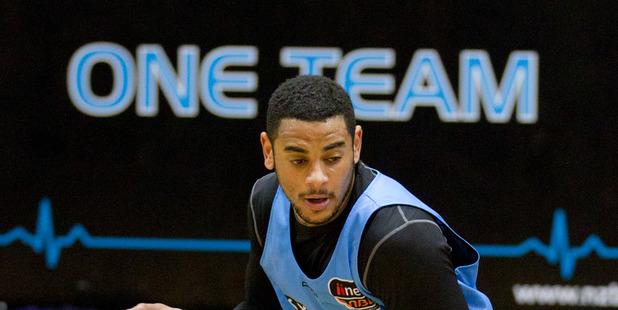 New Zealand Breakers basketball player Corey Webster. Photo / Greg Bowker