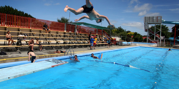 The Whanganui East pool is being filled for a December 12 opening. Photo/Bevan Conley.